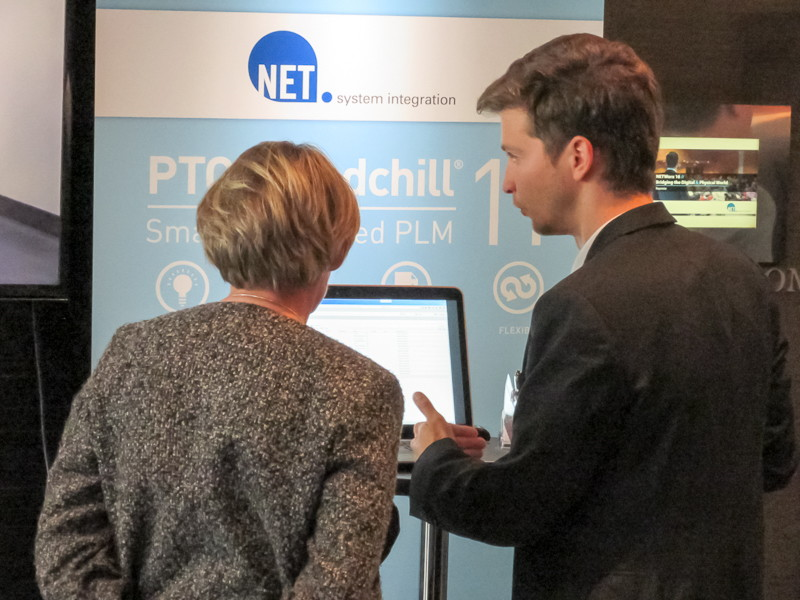 NETWorx 16 - Expo Area mit PTC Windchill 11
