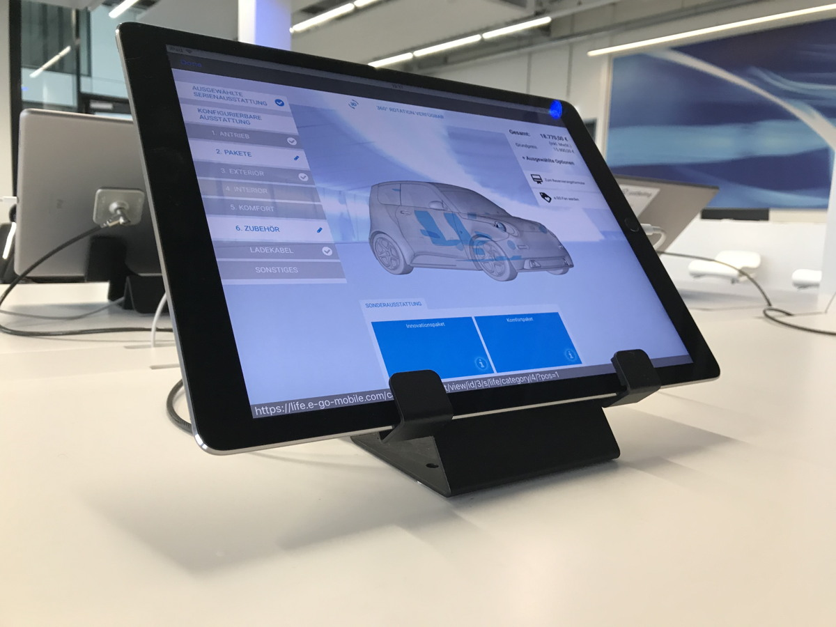 Showroom e.GO Mobile AG Vorabendveranstaltung NETWorx 18